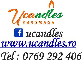Lumanari decorative marca Ucandles