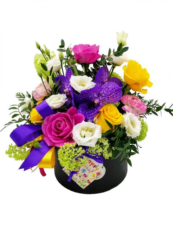 Aranjament floral Uca130 - Florăria Uca Flowers Tulcea
