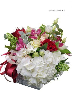 Aranjament floral Uca180 - Florăria Uca Flowers Tulcea